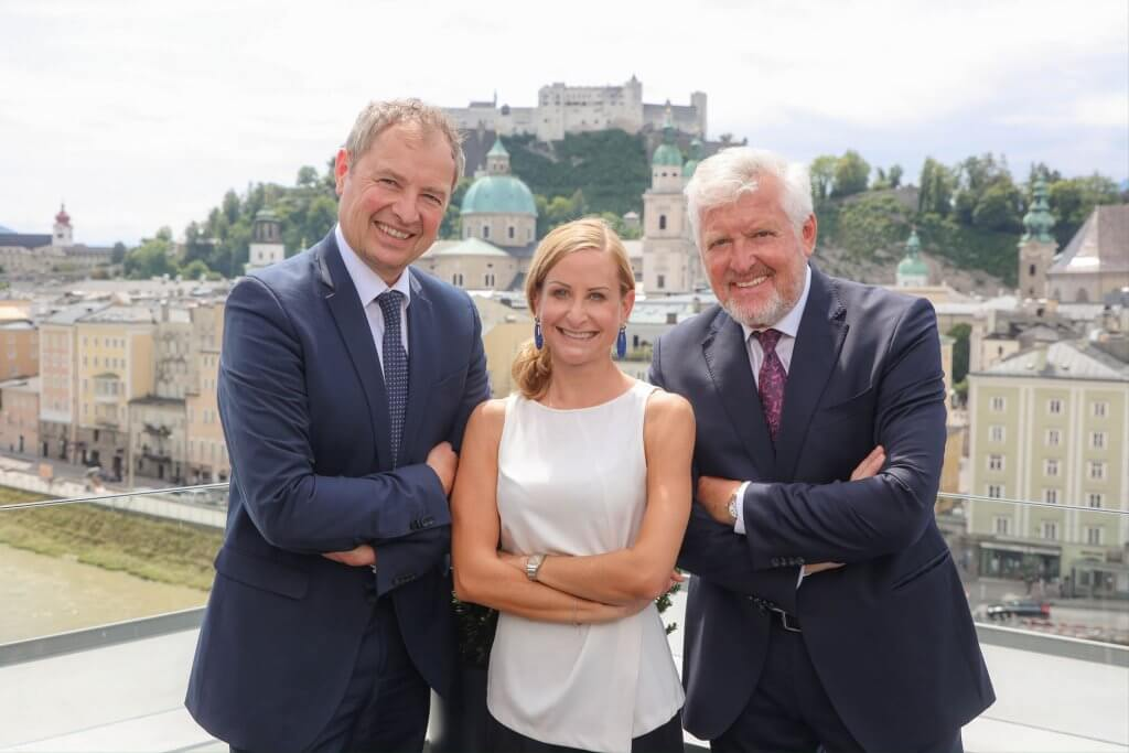 Dr. Alfred Winkler, Julia Skardarasy, Engelbert Lainer-Wartenberg
